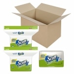 Scott Naturals Moist Cleansing Cloths - Mixed Product Refill Bags/Tub- 1 ea