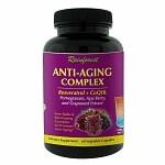 Rainforest Anti-Aging Complex with Resveratrol & CoQ10, Capsules- 60 ea
