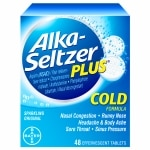 Alka-Seltzer Plus Cold Formula Effervescent Tablets, Original