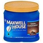 Maxwell House Ground Coffee, Columbian Roast- 28 oz