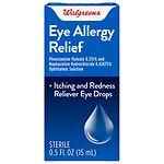 Walgreens Allergy Relief Eye Drops- .5 oz