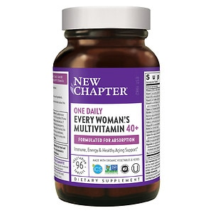 New Chapter Every Woman's One Daily 40+ Multivitamin, Tablets- 96 ea