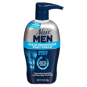 Nair Men Hair Removal Body Cream- 13 oz
