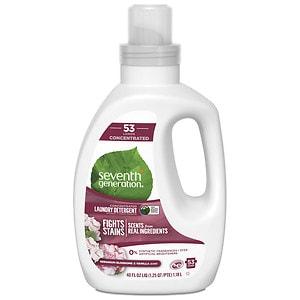 Seventh Generation Liquid Laundry 4X, Geranium Blossoms & Va
