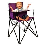 Jamberly Group ciao! baby go-anywhere-highchair, Purple- 1 ea