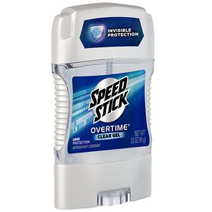 Speed Stick by Mennen Gear Gel Deodorant, Fresh Force, 3 oz