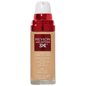 Revlon Age Defying Firming & Lifting Makeup, SPF 15, Soft Beige