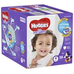 Huggies Little Movers Diapers, Big Pack, Size 4
