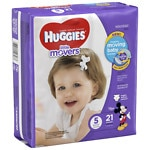 Huggies Little Movers Diapers, Jumbo Pack, Size 5- 21 ea