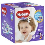 Huggies Little Movers Diapers, Big Pack, Size 5