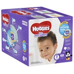 Huggies Little Movers Diapers, Big Pack, Size 3- 68 ea