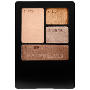 Maybelline Expert Wear Eyeshadow Quad, Chai Latte- .17 oz
