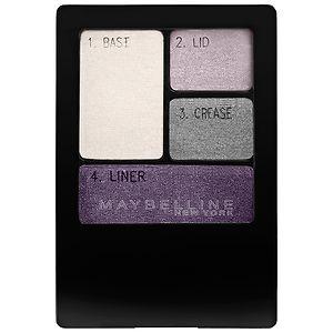 Maybelline Expert Wear Eyeshadow Quad, Velvet Crush