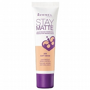 Rimmel Stay Matte Liquid Mousse Foundation, Soft Beige