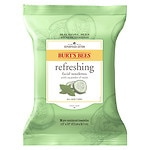 Burt's Bees Facial Cleansing Towelettes, Cucumber & Sage