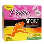 Playtex Sport Fresh Balance Tampons, Multipack, Regular & Super