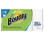 Bounty Select-A-Size Paper Towels, 12 Big Rolls- 1128 sh