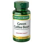Nature's Bounty Green Coffee Bean with Raspberry Ketones & Green