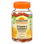 Sundown Naturals Vitamin C Gummies, Orange- 90 ea