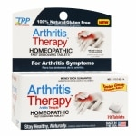 The Relief Products Arthritis Therapy Homeopathic Fast Dissolving Tablets- 70 ea