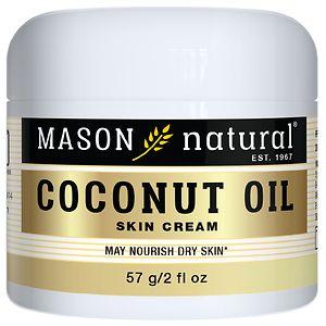 Mason Natural Coconut Oil Beauty Cream- 2 oz