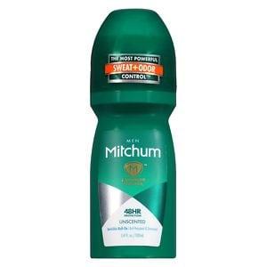 Mitchum Men Roll-On Antiperspirant & Deodorant, Unscented