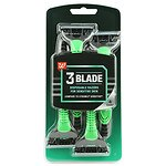 Studio 35 Men's Triple-Blade Disposable Razors- 4 ea