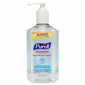 Purell Advanced Hand Sanitizer, Bonus Size Pump, Original