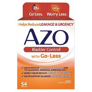 AZO Bladder Control, Capsules- 54 ea
