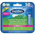 DenTek Instant Pain Relief, Maximum Strength, Clean Mint- .13 oz