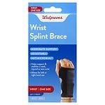 Walgreens Adjustable Splint Wrist Brace, One Size