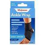 Walgreens Adjustable Ankle Support Wrap, One Size- 1 ea