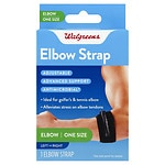 Walgreens Elbow Strap, One Size- 1 ea