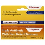 Walgreens Triple Antibiotic with Pain Relief
