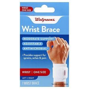 Walgreens Wrist Brace, One Size- 1 ea