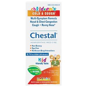 Boiron Children's Chestal Cold & Cough- 6.7 fl oz