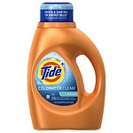 Tide Coldwater Clean Liquid Laundry Detergent 24 loads, Fresh- 46 oz