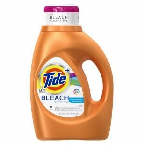 Tide Plus Bleach Alternative Liquid Laundry Detergent 24 Loads, Clean Breeze