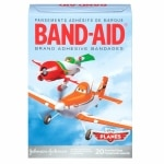 Band-Aid Adhesive Bandages, Disney's Planes, Assorted Sizes- 20 ea