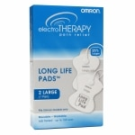 Omron Electrotherapy Pain Relief Long Life Pads, Large- 1 ea