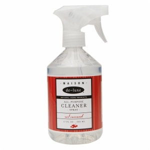 de-luxe MAISON All-Purpose Spray Cleaner, Red Currant, 17 fl oz