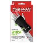Mueller Reversible Wrist Brace, Maximum Support, Model 6723, One