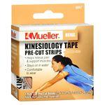Mueller Kinesiology Tape Pre-Cut Strips, Beige- 1 ea