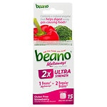 Beano Meltaways Food Enzyme Dietary Supplement, Strawberry- 15 ea