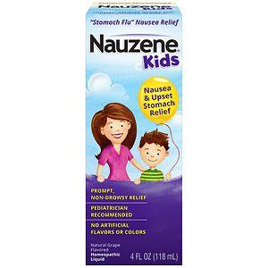 Nauzene Homeopathic Liquid, Grape- 4 fl oz