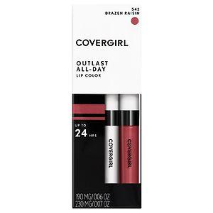 CoverGirl Outlast All Day Lipcolor, Brazen Raisin 542