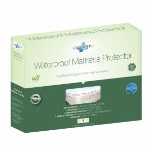 CareActive Waterproof Reusable Incontinence Mattress Pad Protector, Twin