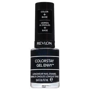 Revlon ColorStay Gel Envy Longwear Nail Enamel, Black Jack