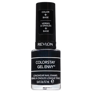 Revlon ColorStay Gel Envy Longwear Nail Enamel, Black Jack- .4 fl oz