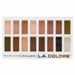 L.A. Colors 16 Color Eyeshadow Palette, Sweet